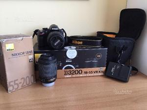 Nikon D con  e accessori