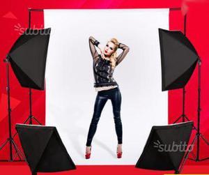 Set Illuminazione Per Studio Fotografico Luce