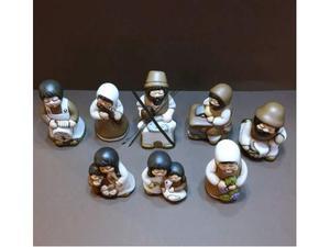 Statuine presepe classico thun nuovi con scatola mai usati