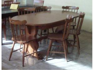 Tavolo + 6 sedie usato