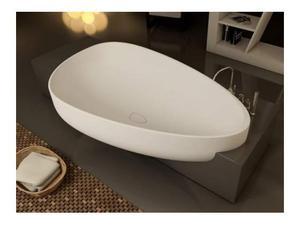 Vasca da Bagno di DESIGN mod. VOV colore bianco.