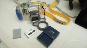 WP-DC27 CUSTODIA SUBACQUEA Canon ixus 980 Batterie