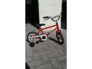 Bicicletta BMX per bambino (con rotelle smontabili)