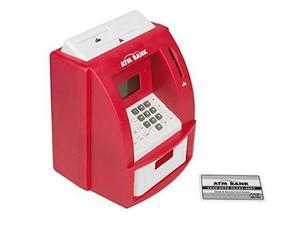 Idena  - Salvadanaio digitale a forma di bancomat, con