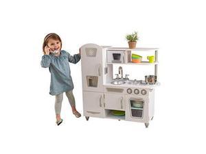 KidKraft - Cucina giocattolo Vintage in legno- Bianca
