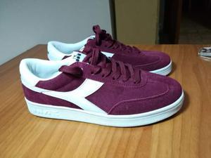 Offro scarpe Diadora Field violet prugne N°38, NUOVE