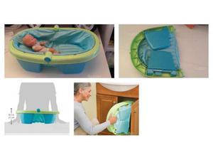 Vasca Da Bagno Bambini Pieghevole : Beaba vaschetta da bagno pieghevole blu posot class