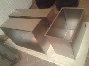 Contenitori / vasche in acciaio inox