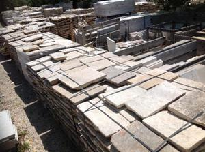 La pietra antica da pavimento