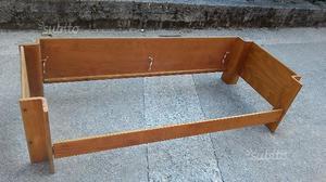 Divano legno posot class - Struttura divano letto ...