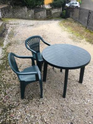 Tavolo rotondo da giardino nuovo mai usato posot class for Tavolo da giardino usato