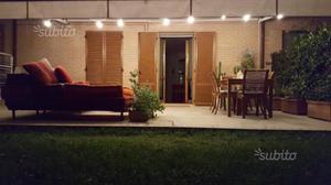 Tenda da sole ad attico