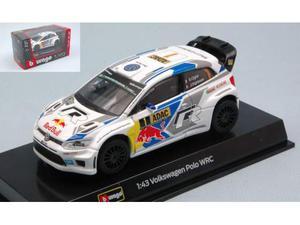 Bburago BU VW POLO WRC N. S.OGIER-J.INGRASSIA