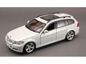 Bburago BUW BMW SERIE 3 TOURING  WHITE 1:24