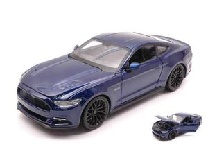 Maisto MIBL FORD MUSTANG GT  BLUE 1:24 Modellino