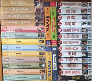 Vendo VHS usati classici Disney + altri film vari