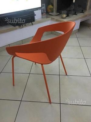 4 sedie di design da interno e esterno