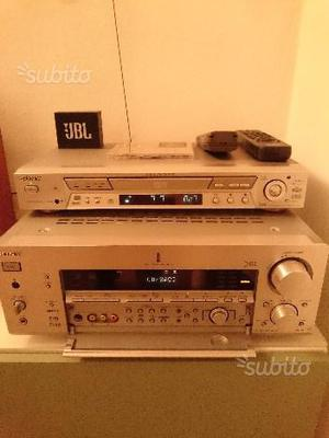 Ampli Sony DB e lettore Sony NS700V