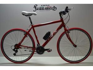 Bici corsa bicicletta da corsa bicicletta uomo ibrida 21v