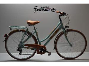 Bici da donna 28 6v verde bicicletta da donna in alluminio