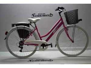 Bicicletta donna 28 acciaio 6v totalmente personalizzabile