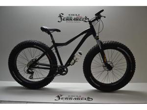 Bicicletta fat bike ammortizzata in alluminio 16,7 kg..freni