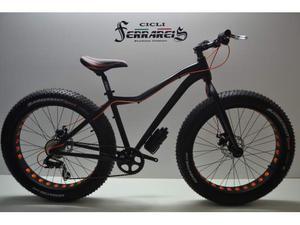 Bicicletta fat bike in alluminio 16,7kg..officine ferrareis