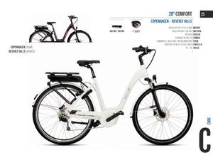 City bike donna 26 ebike 26 comfort copenhagen - beverly