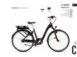 City bike donna 28 ebike 28 comfort burbon street