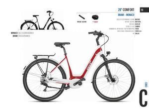 City bike donna 28 ebike 28 comfort miami - monaco