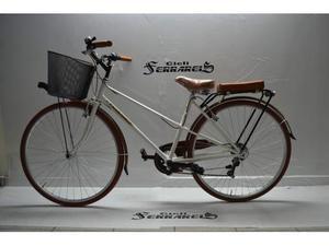 City bike donna 28 panna acciaio personalizzabile