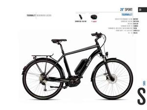 City bike uomo 28 ebike 28 sport tourmalet