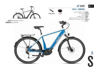 City bike uomo 28 ebike 28 sport vuelta - lombardia