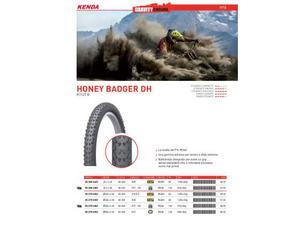 Copertura mtb 26x2.4 kenda honey badger dh