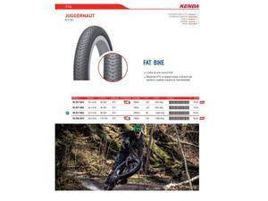 Copertura mtb fat bike Juggernaut 26x4.0
