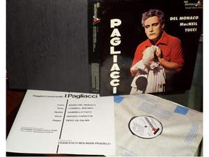 DEL MONACO,MAC NEIL,TUCCI - Pagliacci - BOX SET 2 LP / 33
