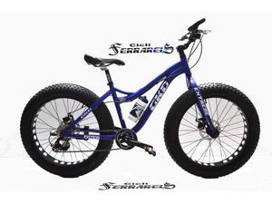 Fat bike evo mtb grossa 24 in alluminio officine ferrareis