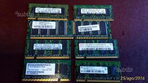 Ram pc fisso e notebook da 256mb a 2 gb