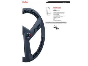 Ruota corsa vision in carbonio anteriore vision metron 3