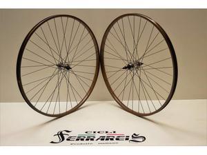 Ruote 20 in alluminio / marroni 8 velocita city bike vintage