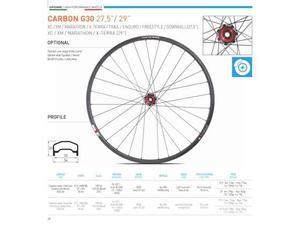 Ruote mtb 29 o 27.5 carbon g30 Gipiemme disco 6 fori