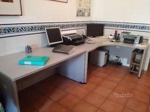 Scrivania Ufficio Professionale : Scrivania angolare per casa o ufficio posot class