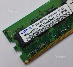 2GB DDR2 SODIMM per notebook