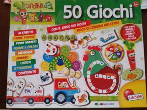 50 giochi Lisciani