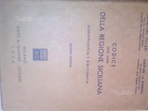 Codici leggi regione Siciliana,  e