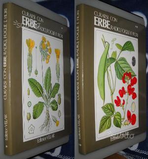 Curarsi con erbe, radici, foglie e fiori, voll.1 e