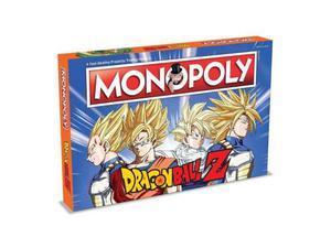 Gioco da Tavolo Monopoly Dragon Ball Z Versione Italiana