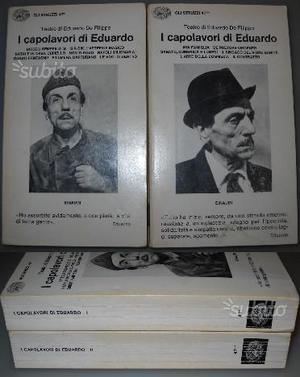 I capolavori di Eduardo, voll.1 e 2, Eduardo De Fi