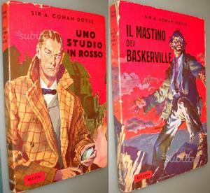 Lotto 2 volumi Sherlock Holmes, Doyle, Rizzoli