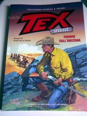 Tex, collezione storica a colori